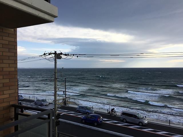 【鎌倉日和の特選物件】海の目の前の海が見えるマンション