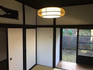 北鎌倉柿の木平屋貸家